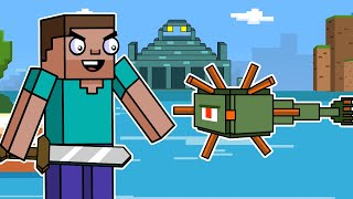 Guardians & The Ocean Monument | Block Squad (Minecraft Animation)