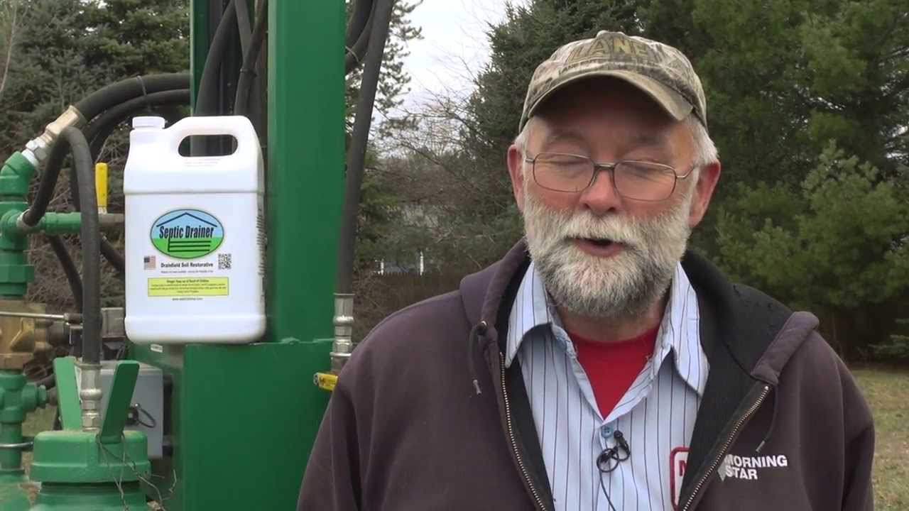 Frank Shaw On Septic Drainer Fixes Failed Septic Drain