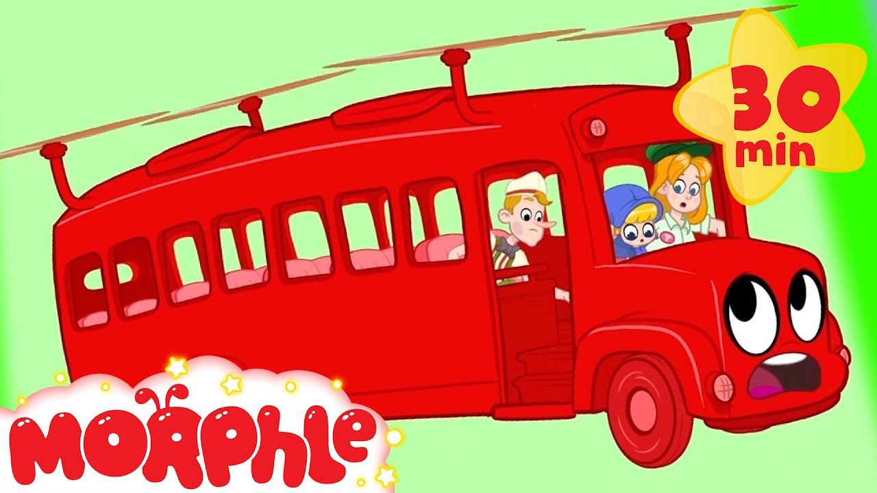 Morphle The Bus Breaks Down - My Magic Pet Morphle | Cartoons For Kids | Morphle | Mila and Morphle