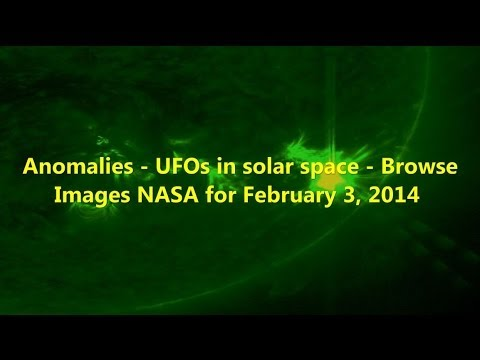Anomalies - UFOs in solar space - Browse Images NASA for February 3, 2014