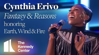 Cynthia Erivo - Fantasy & Reasons (Earth, Wind & Fire Tribute) | 2019 Kennedy Center Honors