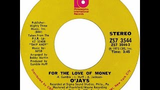 the ojays for the love of money 1973