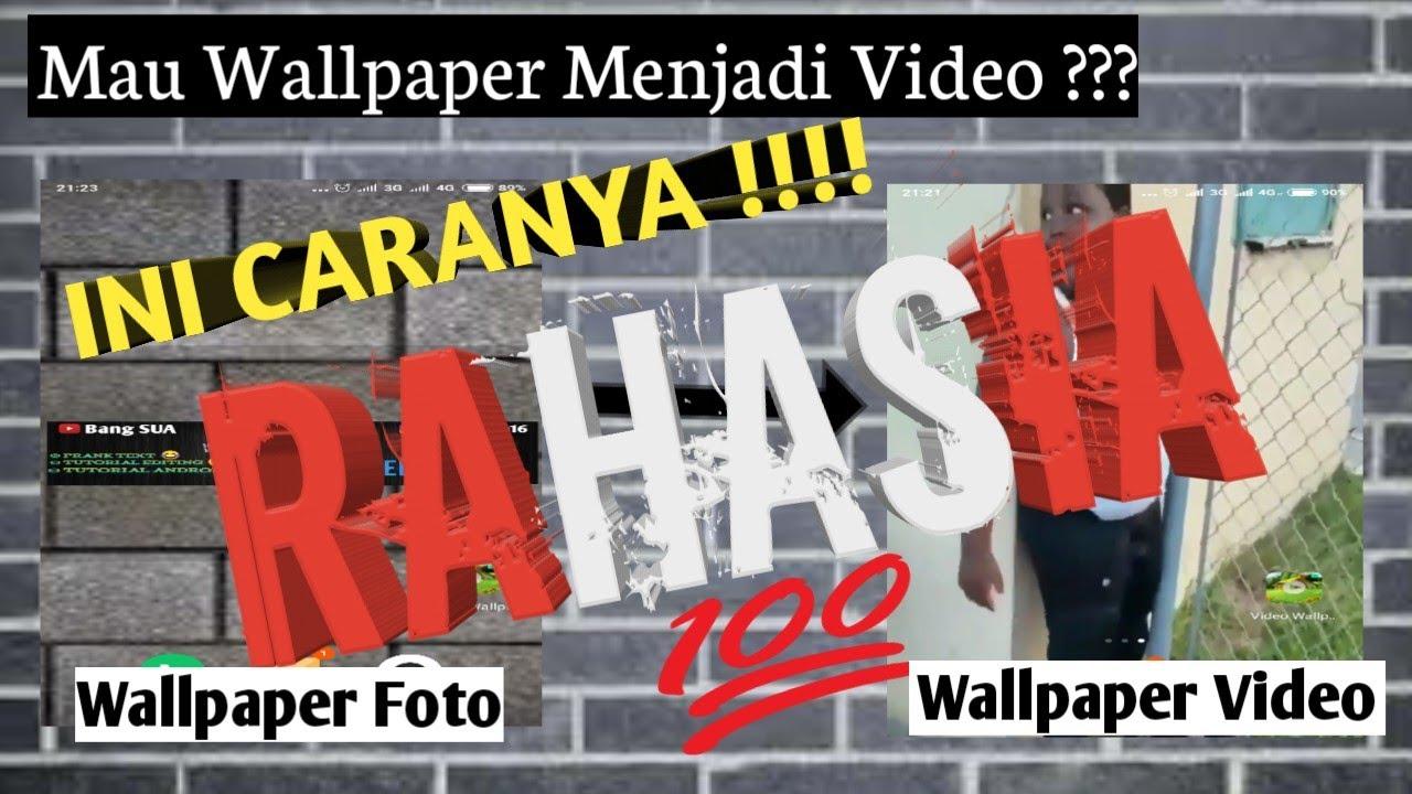 2019rahasia Merubah Wallpaper Jadi Video Di Android