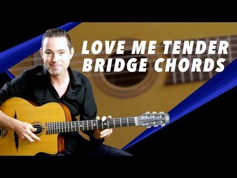 'Love Me Tender' Bridge Chords - Gypsy Jazz Guitar Lesson