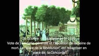 Révolution française Chronologie (partie II) - Era