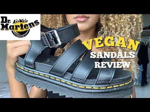 dr martens sandals vegan blaire