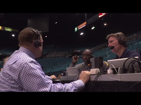 Brad Underwood Postgame Radio Interview at UNLV | 12/9/17