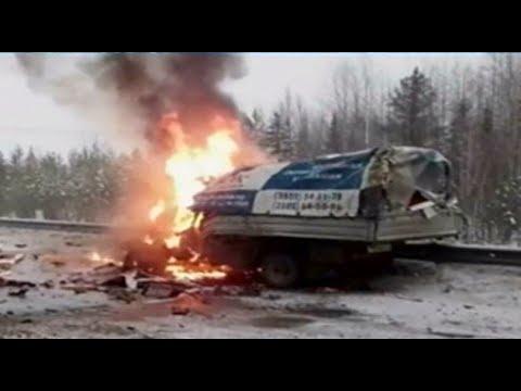 ДТП с участием 5 автомобилей произошло на трассе Тюмень – Ханты-Мансийск