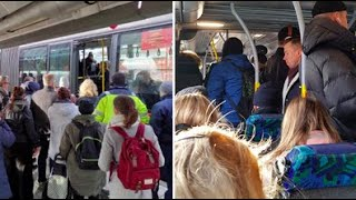 Larm om kaoset i Stockholm: