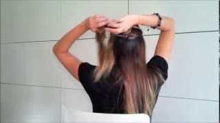 Оригинальная прическа из пучков, косичек и жгутиков своими руками, Original hair tutorial(Привет Всем!!! В этом Видео, я показываю, как сделать очень оригинальную прическу. Она может использоваться..., 2013-11-04T10:35:36.000Z)