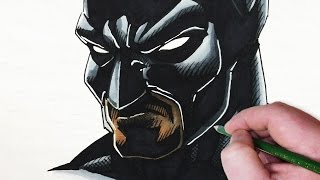 Let's Draw Batman - the Dark Knight