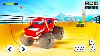 Impossible Monster Truck Stunts ▶️ Best Android Games - Android GamePlay HD - Monster Truck Stunts#2