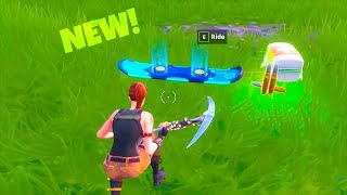 *NEW* DRIFTBOARD LTM LEAKED GAMEPLAY..! Fortnite Battle Royale