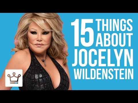 15 Things You Didn't Know About Jocelyn Wildenstein