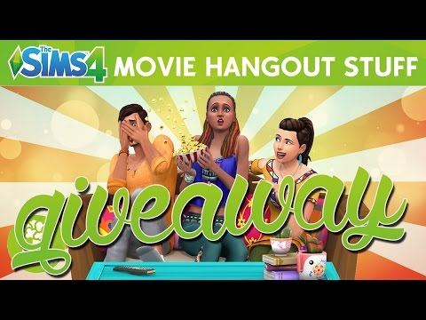 full download the sims 4 giveaway the movie hangout stuff pack closed. Black Bedroom Furniture Sets. Home Design Ideas