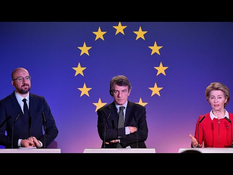 video:  The EU is 'way stronger than any single country' say its leaders as they lament Brexit Day