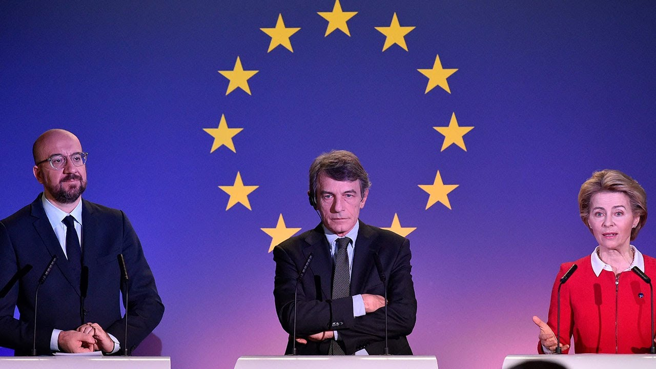 European leaders caution UK over post-Brexit EU trade negotiations
