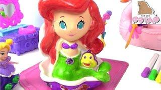 Принцессы Диснея. АРИЭЛЬ! Игрушка и Раскрасска Disney Princess Coloring Game Игры для Девочек