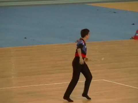 Matt Freeman-World Baton Championships-Solo Gold Medal Performance