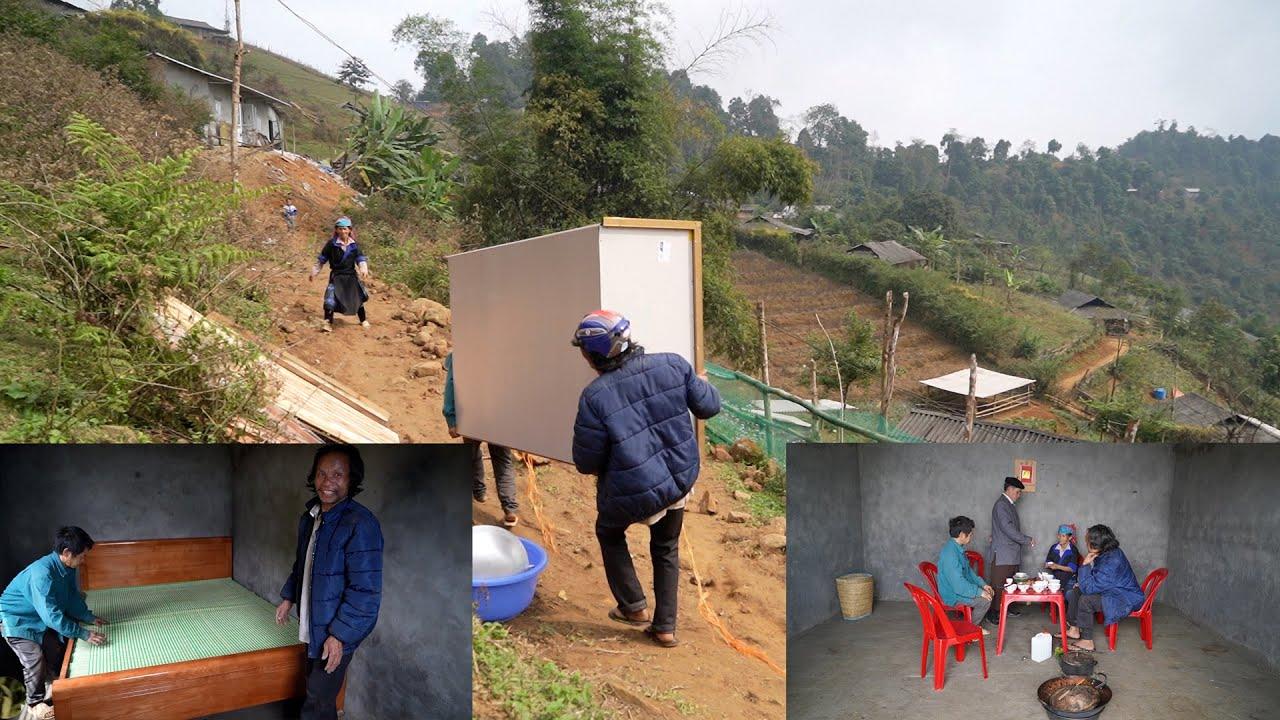 Khai Xuân đã trở lại với bản làng - A Tu nhận lộc đầy nhà | Xây nhà nghệ nhân khèn bản A Tu (T 11 )