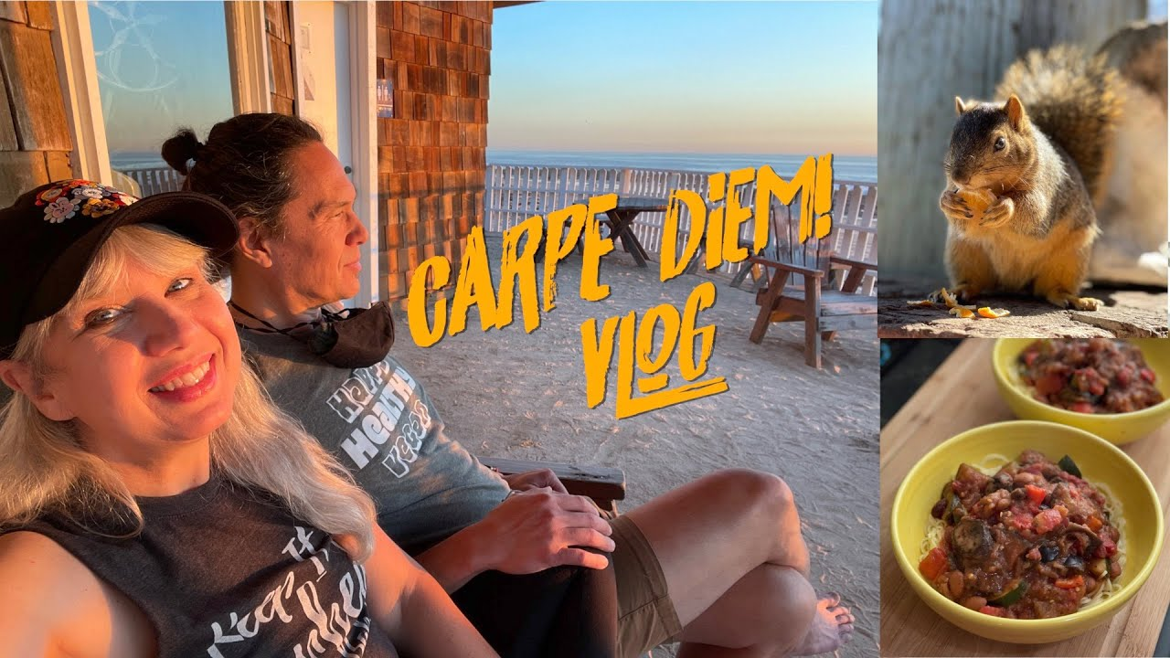 Carpe Diem! Meals, Mail, Animals & Sunset Beach Walk with Chill Tunes
