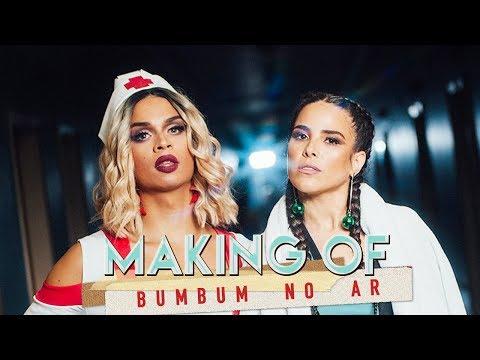 Bom Lia 9  MAKING OF BUMBUM NO AR