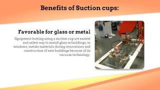 lifting equipment: Heavy Lifting Equipment Jib Cranes And Suction Cups