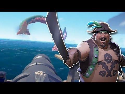 Sea of Thieves | A WILD KRAKEN APPEARS!