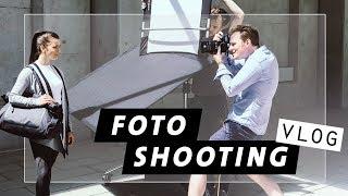 Fotoshooting Vlog   Fitness Model   Behind the Scenes   Blähbauch