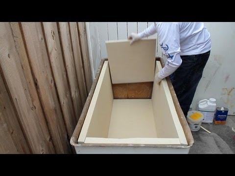 Build a Yeti Style Super Ice Chest Cooler  FunnyDogTV