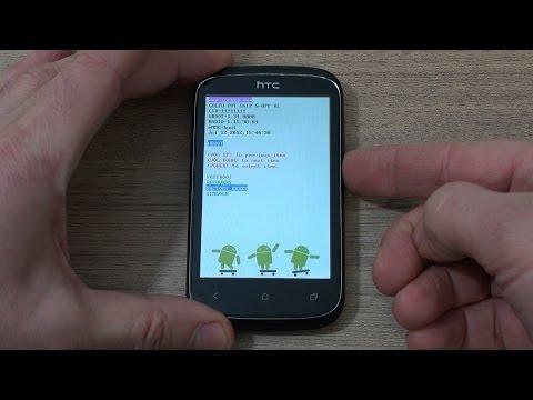 HTC Desire C hard reset