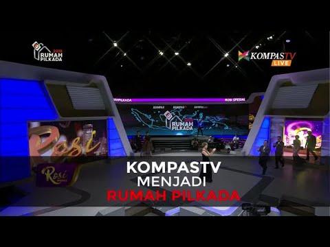 KompasTV Menjadi Rumah Pilkada