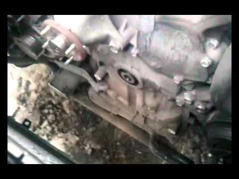 Фото к видео: Замена цепей ГРМ на VQ25DET.Первая серия.