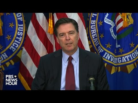 FBI Director James Comey makes statement on San Bernardino shootings