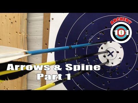 Archery 101  - Arrows & Spine Part One
