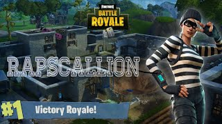 Fortnite *NEW SKIN* RAPSCALLION Gameplay