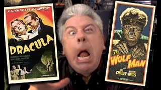 STEVE HAYES: Tired Old Queen at the Movies - DRACULA & THE WOLF MAN