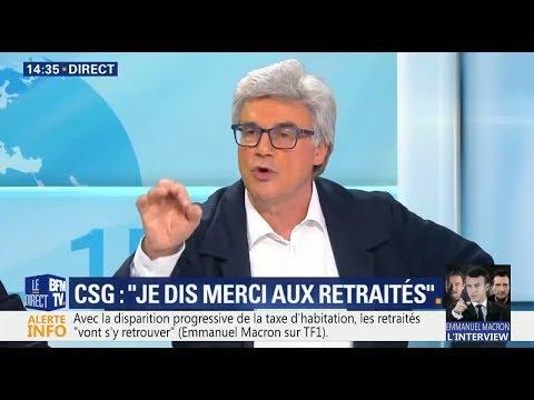 Réaction de Patrick Le Hyaric après l'interview de Macron à Berd'huis