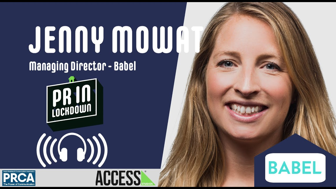 """Big, flash campaigns might be few and far between"" - Jenny Mowat, Managing Director - Babel PR"