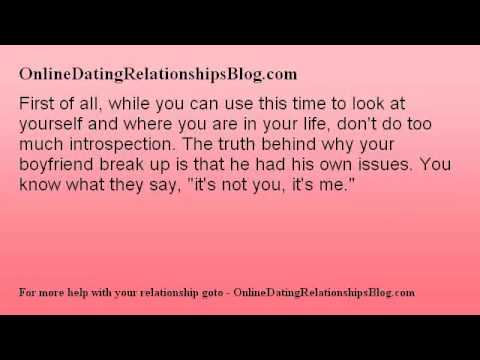 what to do if you break up with your boyfriend