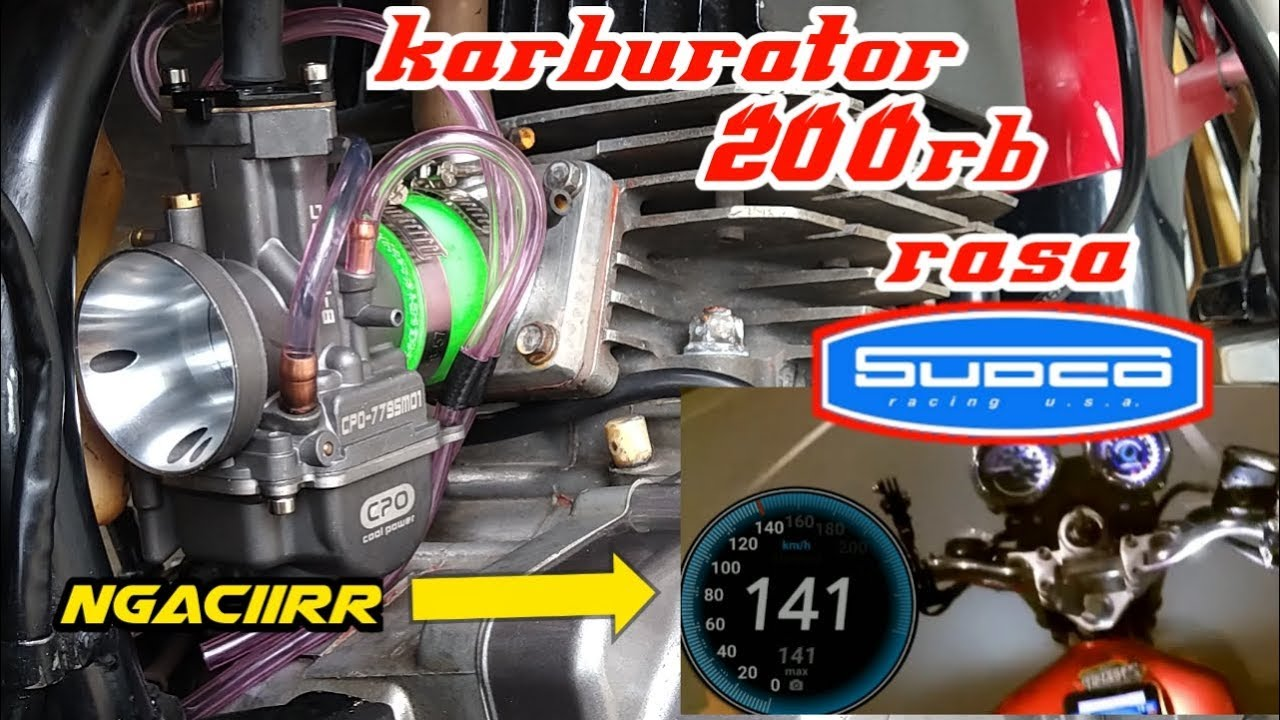 Top speed rx king Tembus 141kpj //Tes Karburator PWK CPO