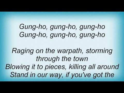 Anthrax - Gung-Ho Lyrics