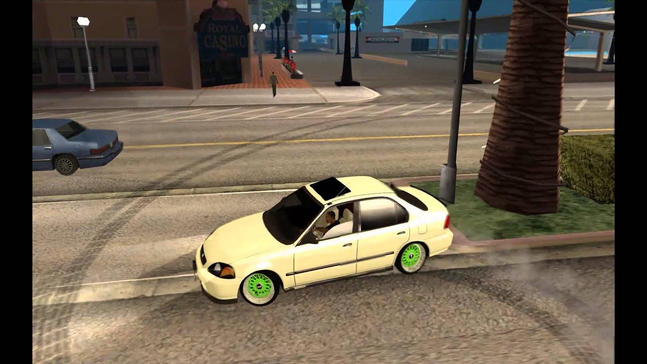 Honda Civic JDM New Cars GTA San Andreas YouTube   Honda Jdm Cars