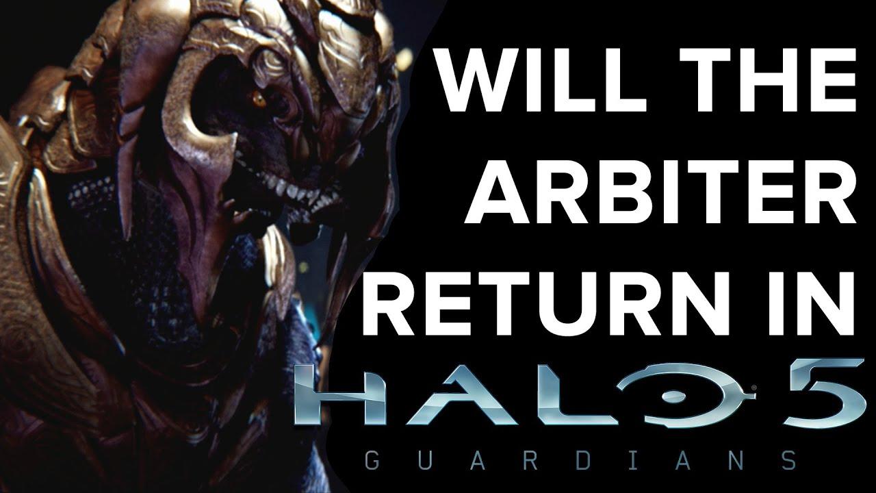 will the arbiter return in halo 5 guardians eurogamer youtube