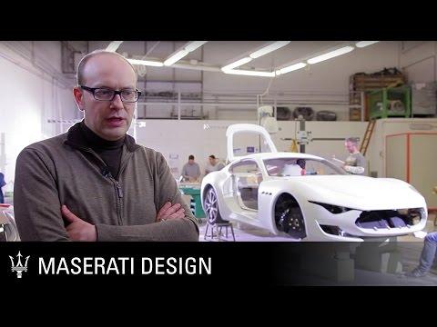 Maserati Alfieri Concept Car - the design process