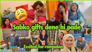 Finally bhai is happy with me 😋 | gifts for family | ramadan shopping | ibrahim family | vlog