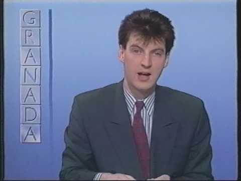 ITV Granada Continuity 21st January 1989 Live and Let Die 6:45pm Andrew Brittain