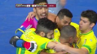 Gols Floripa 3 x 6 Marechal Rondon - Quartas de Final Jogo 1 LNF 2016 (22/10/2016)