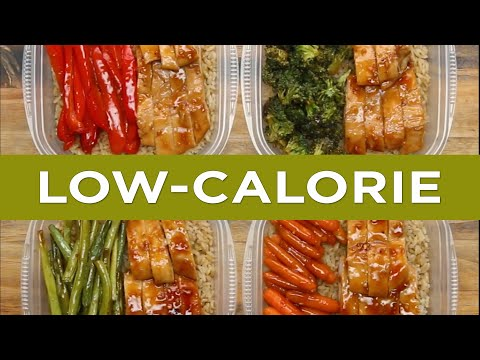 Low Calorie Meal Prep Bowls