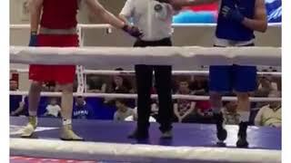 Мангистауский боксер станцевал лезгинку после победы на соревнованиях в Чечне